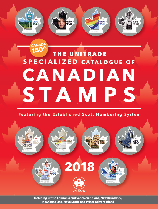 Unitrade Specialized Catalogue Of Canadian Stamp 2018